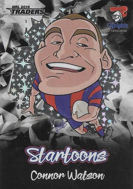 Connor Watson, Black Startoons, 2019 TLA/ESP Traders NRL