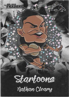 Nathan Cleary, Black Startoons, 2019 TLA/ESP Traders NRL