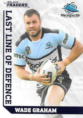 Wade Graham, Last Line of Defence, 2019 TLA/ESP Traders NRL