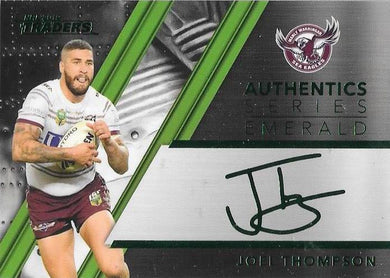 Joel Thompson, Emerald Signature, 2019 TLA/ESP Traders NRL