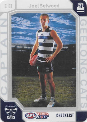 Joel Selwood, Captain Checklist, 2015 Teamcoach AFL