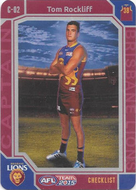 Tom Rockliff, Captain Checklist, 2015 Teamcoach AFL