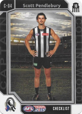 Scott Pendlebury, Captain Checklist, 2015 Teamcoach AFL