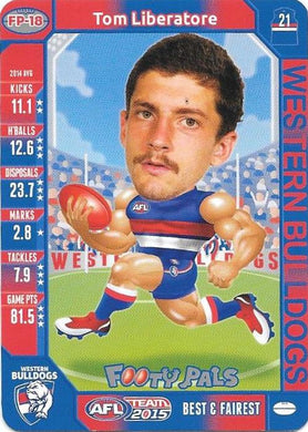 Tom Liberatore, Footy Pals, 2015 Teamcoach AFL