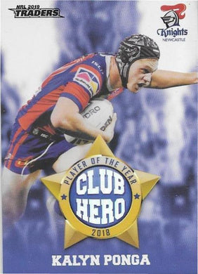Kalyn Ponga, Club Hero, 2019 TLA/ESP Traders NRL