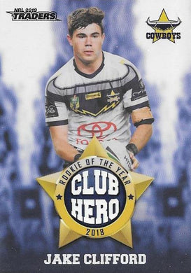 Jake Clifford, Club Hero, 2019 TLA/ESP Traders NRL