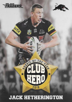 Jake Hetherington, Club Hero, 2019 TLA/ESP Traders NRL