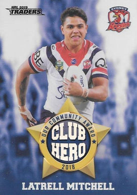 Latrell Mitchell, Club Hero, 2019 TLA/ESP Traders NRL