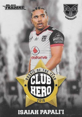 Isaiah Papali'i, Club Hero, 2019 TLA/ESP Traders NRL