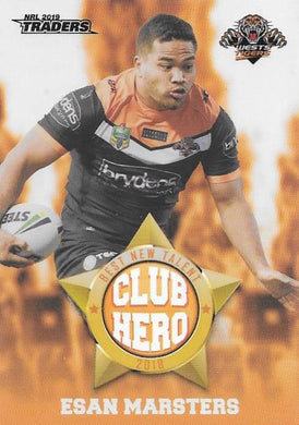 Esan Marsters, Club Hero, 2019 TLA/ESP Traders NRL
