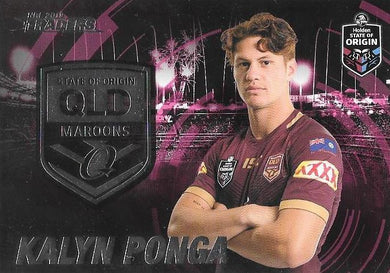 Kalyn Ponga, Origin, 2019 TLA/ESP Traders NRL