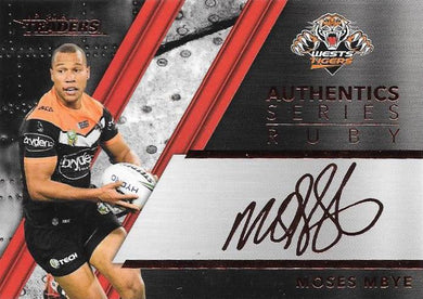 Moses Mbye, Red Signature, 2019 TLA/ESP Traders NRL