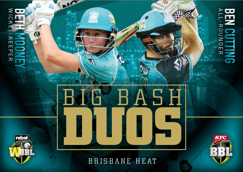 Set of 8 Big Bash Duos, 2018-19 Tap'n'play CA BBL 08 Cricket