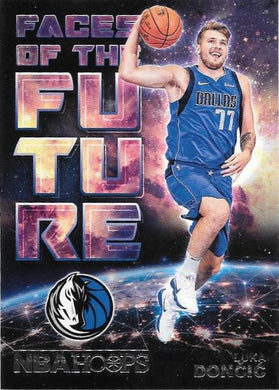 Luca Doncic, Faces of the Future, 2018-19 Panini Hoops Basketball NBA