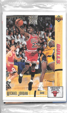 Michael Jordan, He's Back, 9 card set, Upper Deck Basketball NBA
