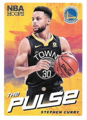 Stephen Curry, The Pulse, 2018-19 Panini Hoops Basketball NBA