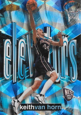 Keith Van Horn, Elevators, 1999-00 Fleer Flair Showcase Basketball NBA