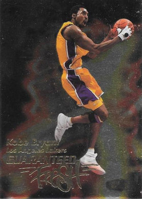 Kobe Bryant, Guaranteed Fresh, 1999-00 Fleer Flair Showcase Basketball NBA