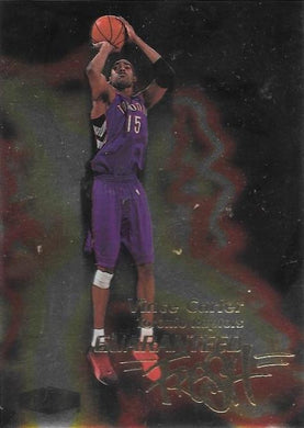 Vince Carter, Guaranteed Fresh, 1999-00 Fleer Flair Showcase Basketball NBA