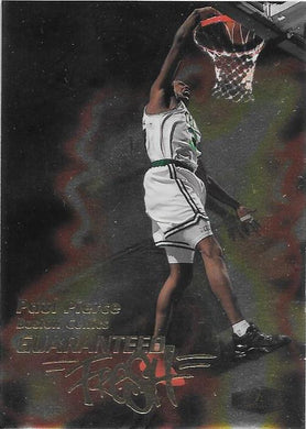 Paul Pierce, Guaranteed Fresh, 1999-00 Fleer Flair Showcase Basketball NBA