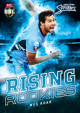 Set of 16 Rising Rookies, 2018-19 Tap'n'play CA BBL 08 Cricket