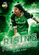 Rising Rookies, 2018-19 Tap'n'play CA BBL 08 Cricket - 1 to 16 - Pick Your Card