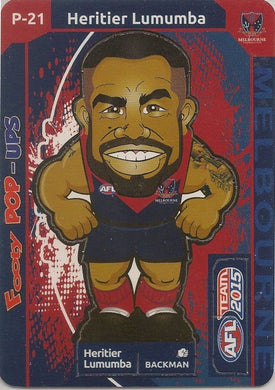 Heritier Lumumba, Footy Pop-Ups, 2015 Teamcoach AFL