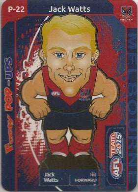 Jack Watts, Footy Pop-Ups, 2015 Teamcoach AFL
