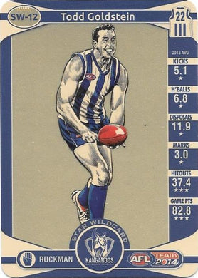 Todd Goldstein, Star Wildcard, 2014 Teamcoach AFL