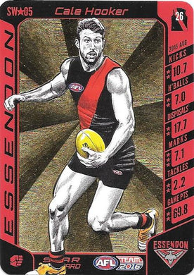 Cale Hooker, Star Wildcard, 2016 Teamcoach AFL
