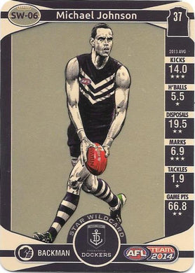 Michael Johnson, Star Wildcard, 2014 Teamcoach AFL