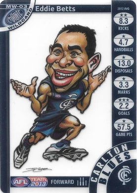 Eddie Betts, Magic Wildcard, 2013 Teamcoach AFL