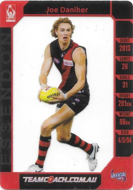 Joe Daniher, Prize Card, 2015 Teamcoach AFL