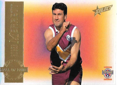 Roger Merrett, Future Hall of Fame, 1996 Select AFL