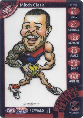 Mitch Clark, Magic Wildcard, 2013 Teamcoach AFL