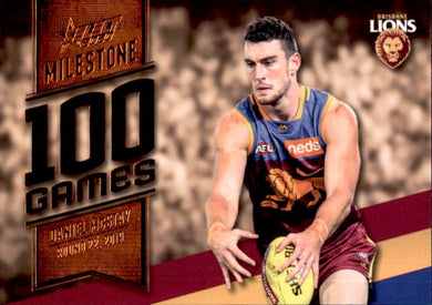 Daniel Mcstay, 100 Games Milestone, 2020 Select AFL Footy Stars