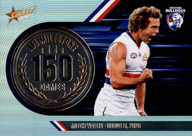 Mitch Wallis, 150 Games Milestone, 2021 Select AFL Footy Stars