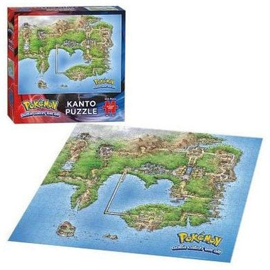 Pokemon Kanto Map Puzzle 550 pieces