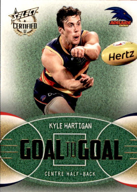 Kyle Hartigan, Goal to Goal, 2017 Select AFL Certified