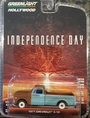 Independence Day 1971 Chev C-10, 1:64 Diecast Vehicle