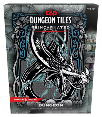 Dungeons & Dragons Dungeon Tiles Reincarnated Dungeon