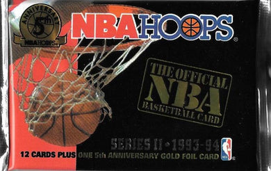 1993-94 NBA Hoops Series 2 Basketball Hobby Pack
