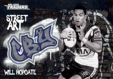 Will Hopoate, Black Street Art, 2020 TLA Traders NRL