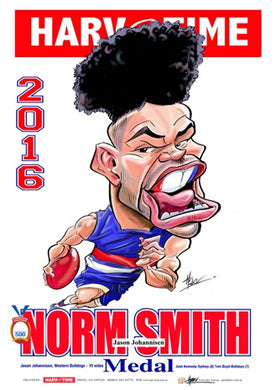 Jason Johannisen, Norm Smith Medal, Harv Time Poster