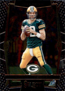 Aaron Rodgers, #26, 2016 Panini Select Football NFL