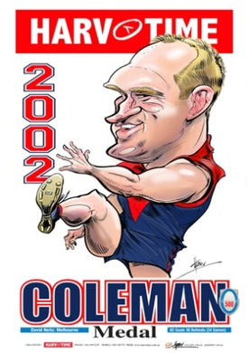 David Neitz, 2002 Coleman Medal, Harv Time Poster
