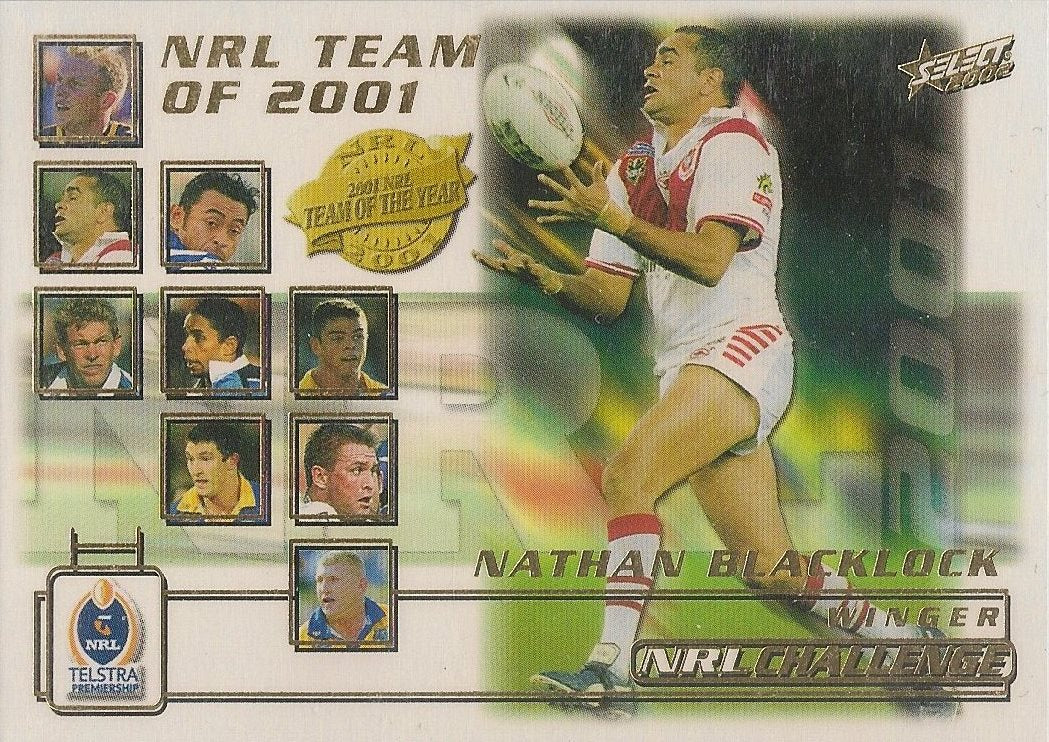 Nathan Blacklock, Team of the Year, 2002 Select NRL