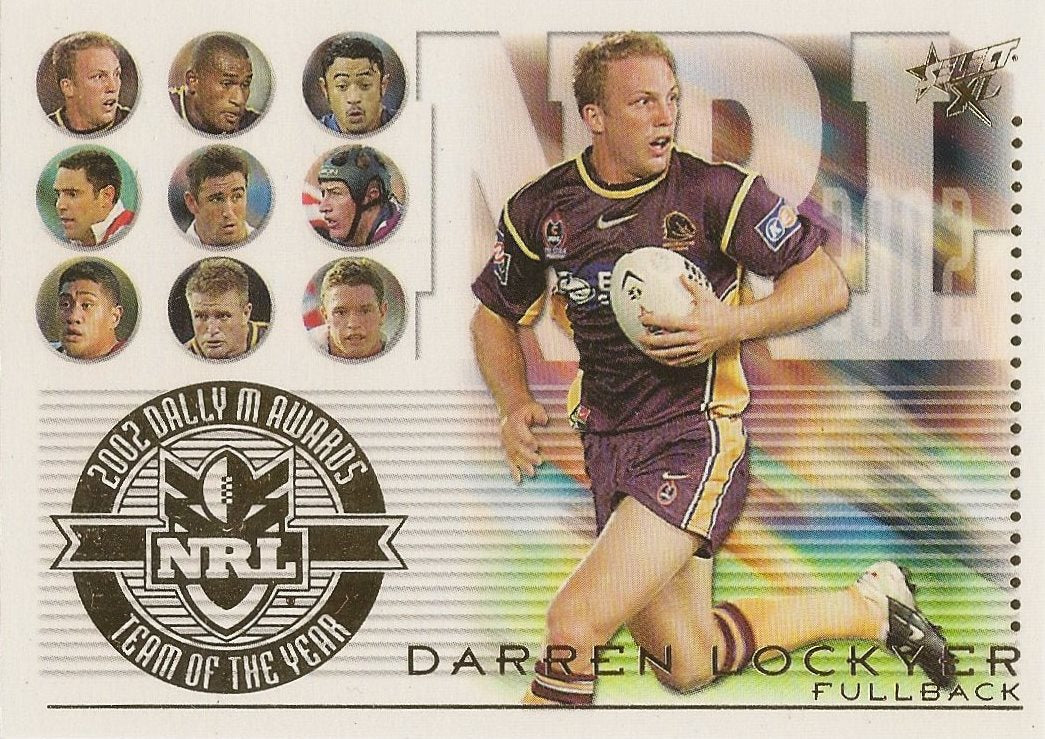Darren Lockyer, Team of the Year, 2003 Select NRL XL