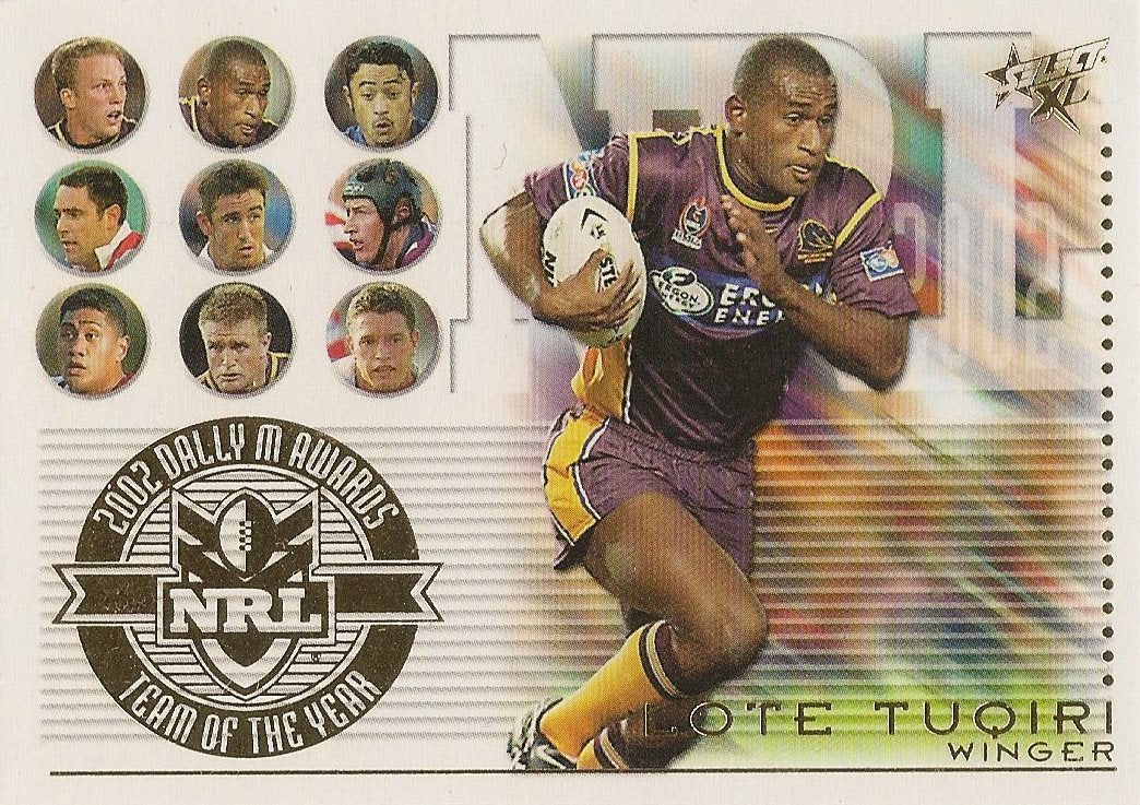 Lote Tuqiri, Team of the Year, 2003 Select NRL XL