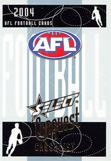 2004 Select AFL Conquest Set of 210 Football cards